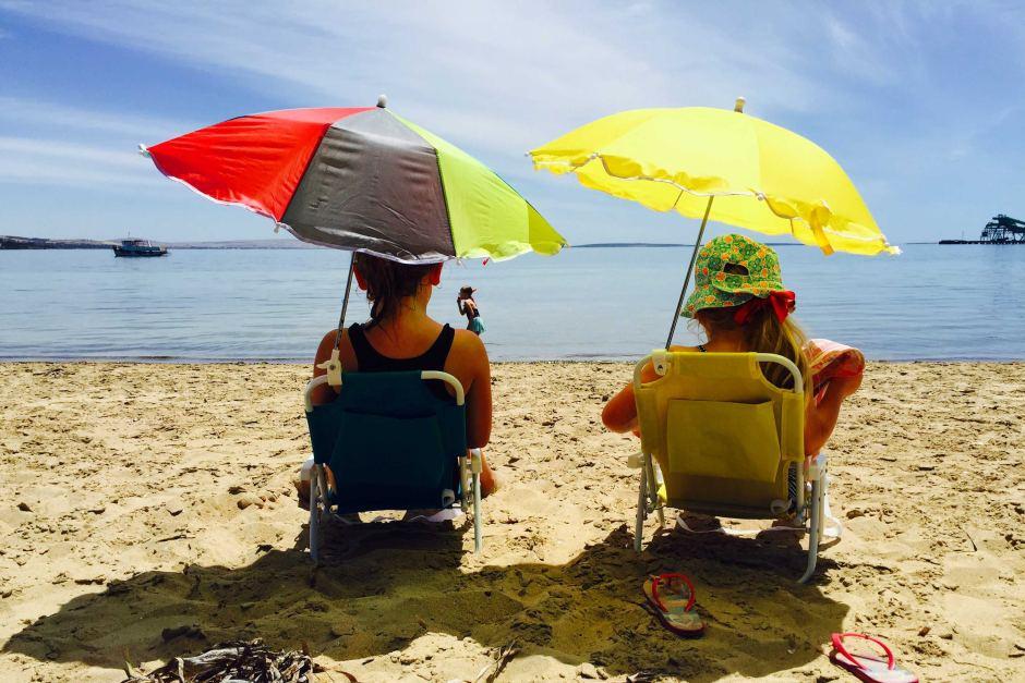 nắng nóng ở Darwin định cư Úc