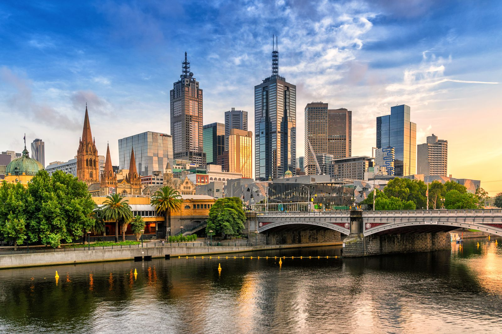 định cư Úc ở Melbourne