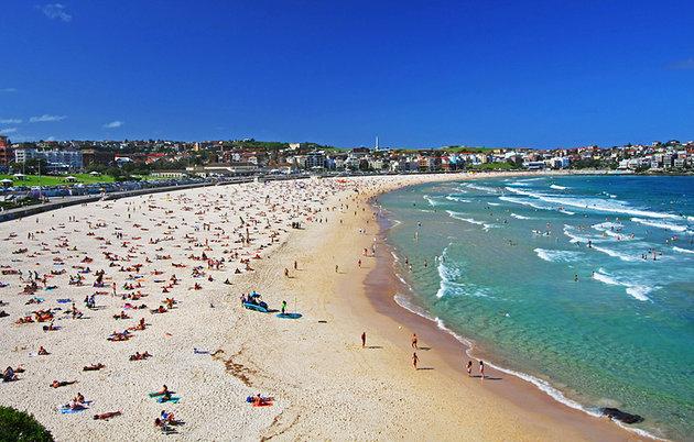 bãi biển ở Úc