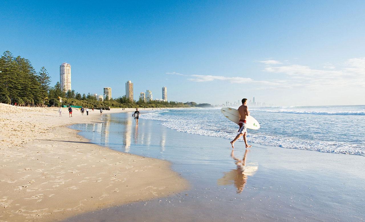 bãi biển gold coast