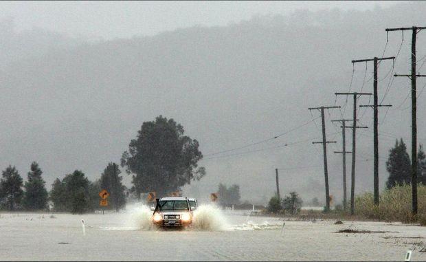 lũ lụt ở Sunshine Coast