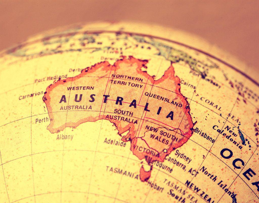 tiếng anh ở Úc