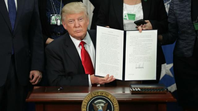 chính sách nhập cư của Trump