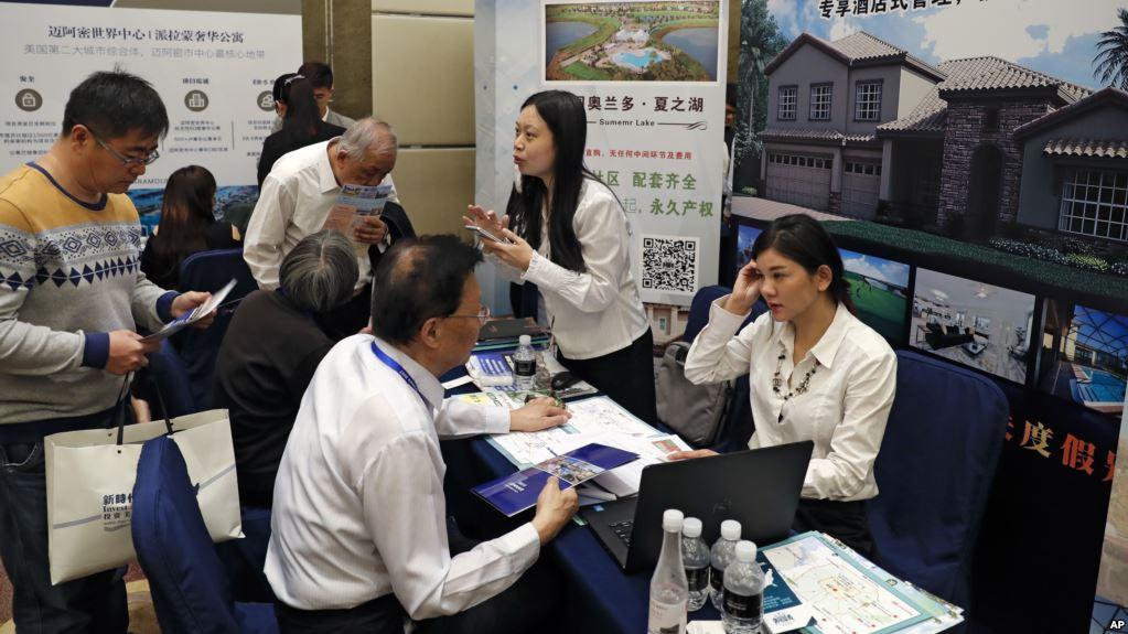 số lượng nhà đầu tư định cư Trung Quốc