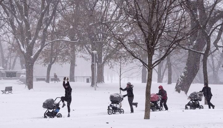 thích nghi với thời tiết ở Canada