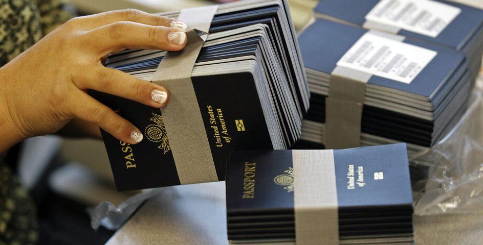 hộ chiếu hoa kì