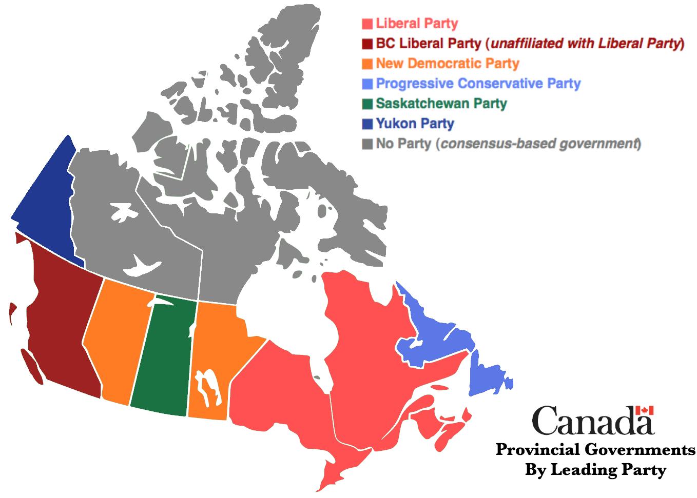 phân cấp chính trị canada ở địa phương