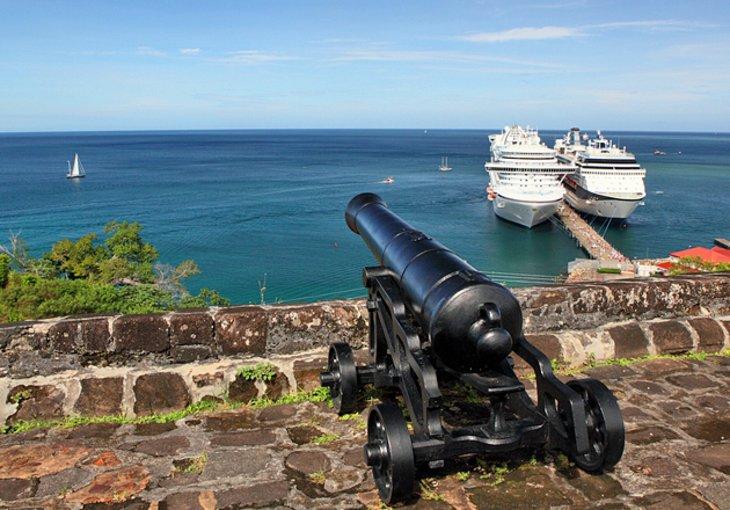 pháo đài George du lịch Grenada