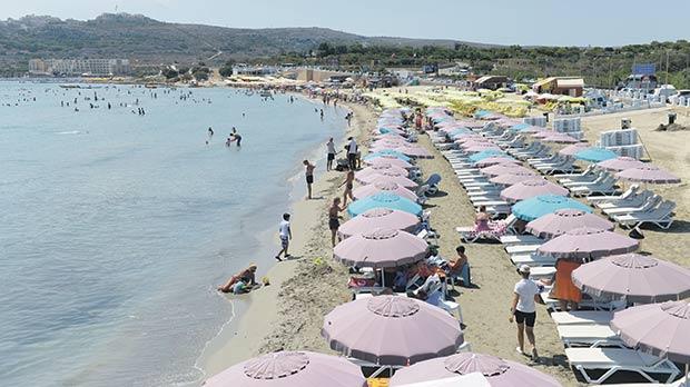 bãi biển đẹp ở Malta